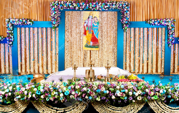 Wedding Stage Decoration In America Venu S Planners Decorations Kerala India
