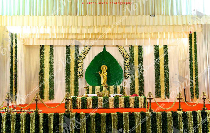 Pictures Of Simple Kerala Wedding Stage Decorations Rock Cafe